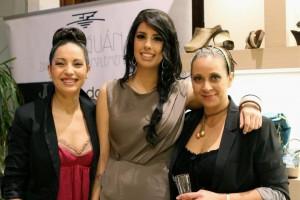 Nadia, Andrea y Gisela con estilismo de Art en Tall