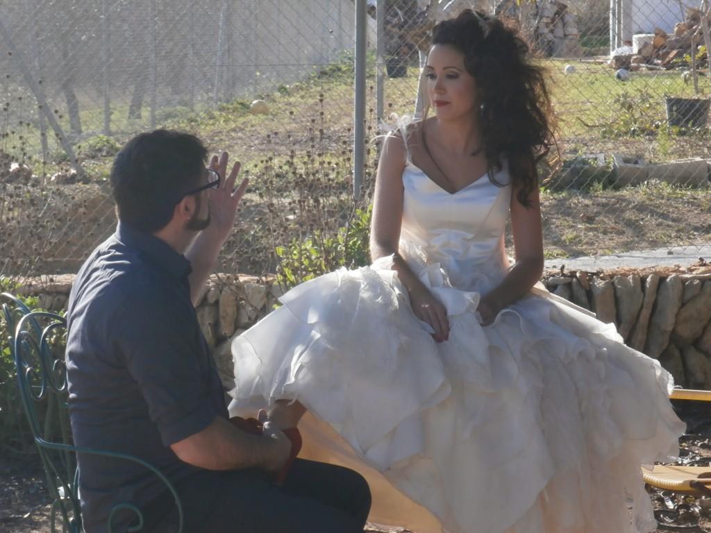 PC090584 1024x768 Fotos fantásticas de la sesión de novia con el estilismo de Art en Tall