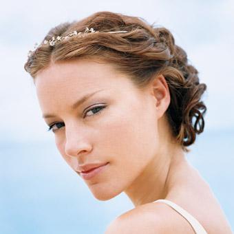 Recogido de novia en la peluquería y estética Art en Tall de Jávea Xàbia