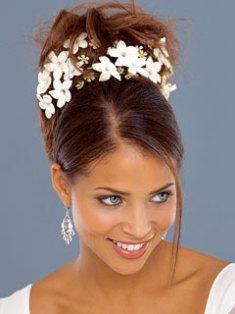 Recogido de novia en la peluquería y estética Art en Tall de Xàbia Jávea