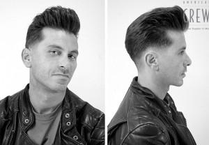 Art en Tall tendencias hombre cortes a la rockabilly en peluquería Jávea